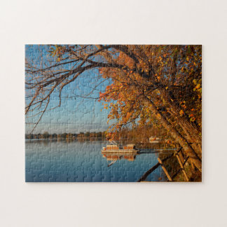 Rice Lake Minnesota. Jigsaw Puzzle