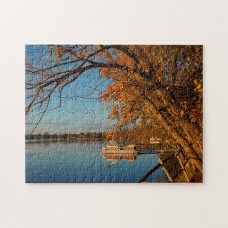 Rice Lake Minnesota. Jigsaw Puzzle
