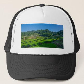 Rice Paddy Field in Japan Trucker Hat