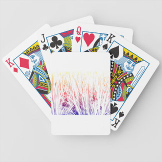 Rice plant bicycle playing cards