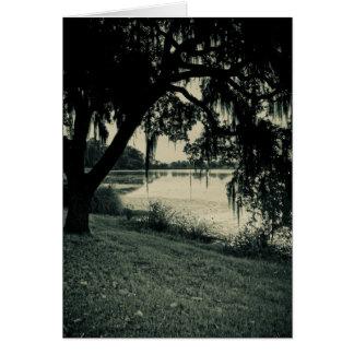 Rice Pond Landscape Card