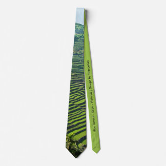 Rice Terrace Tie