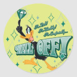Rich and Wealthy DAFFY DUCK™ Classic Round Sticker