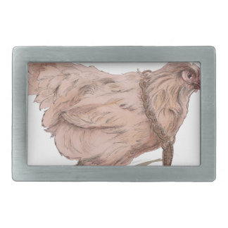 Rich Chick Rectangular Belt Buckle