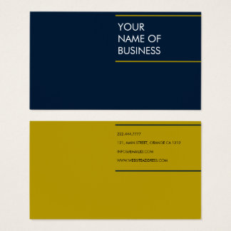 Rich colors elegant business card