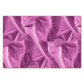Rich Crumpled Metallic Orchid Faux Lame' Texture Tissue Paper