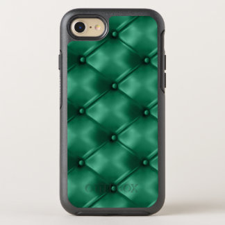 Rich Emerald Green Leather Bespoke Statement Color OtterBox Symmetry iPhone 7 Case