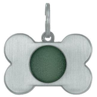 Rich Emerald Green Pet ID Tags