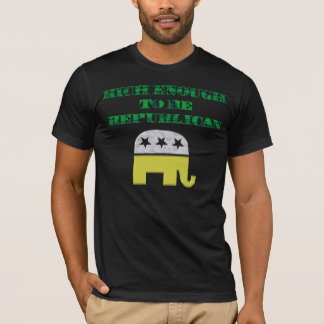 Rich Enough To Be Republican T-Shirt