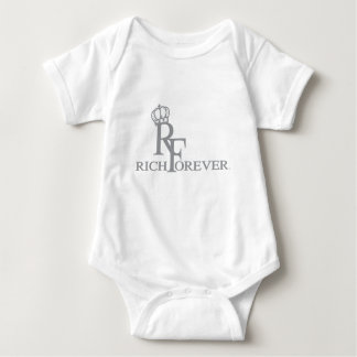 Rich forever_11.ai baby bodysuit