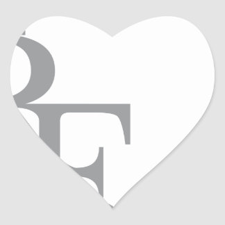 Rich forever_11.ai heart sticker
