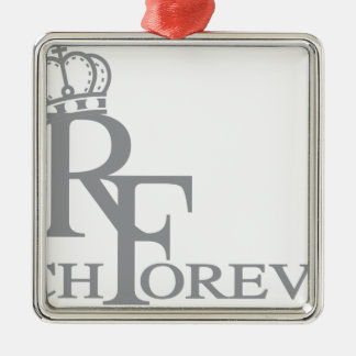 Rich forever_11.ai metal ornament