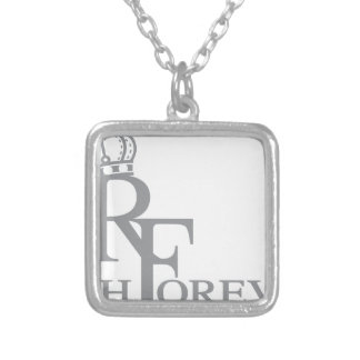 Rich forever_11.ai silver plated necklace