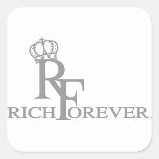 Rich forever_11.ai square sticker