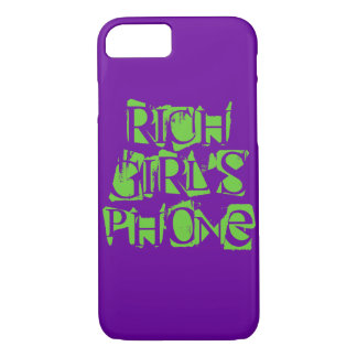 Rich Girl iPhone 7 Cover