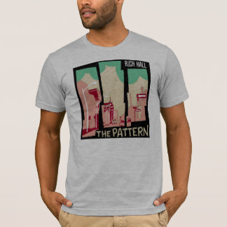 Rich Hall - The Pattern  fitted t T-Shirt