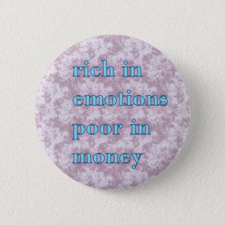 rich in emotion poor in money button