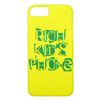 Rich Kid iPhone 7 Cover