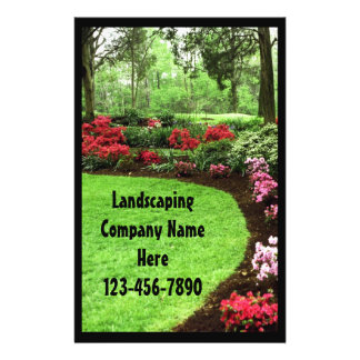 Rich Landscape Lawn Care Business Full Color Flyer