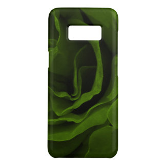 Rich olive green velvety roses flower photo Case-Mate samsung galaxy s8 case