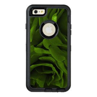 Rich olive green velvety roses flower photo OtterBox defender iPhone case