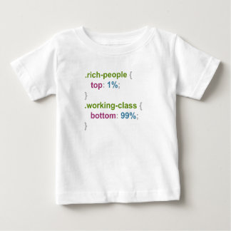 Rich people and working class baby T-Shirt