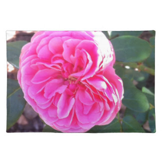 Rich Pink Rose Placemat