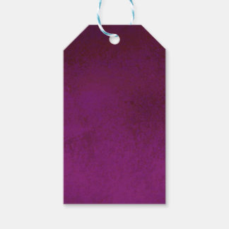RICH PURPLE VELVET GRADIENT BACKGROUND PACK OF GIFT TAGS