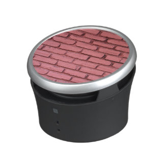 Rich Red Brick Wall Speaker