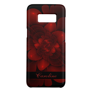 Rich Red Velvet Bloom Case-Mate Samsung Galaxy S8 Case
