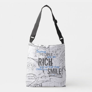 Rich & Smile #34 - Cross Body Bag All-Over-Print