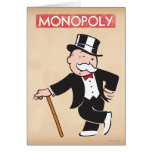 Rich Uncle Pennybags 3 Greeting Card