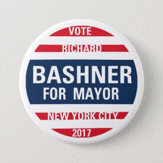 Richard Bashner for Mayor 3 Inch Round Button