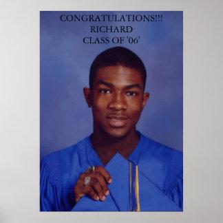 Richard Brewster Graduation Poster