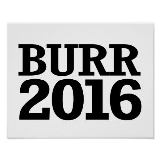 Richard Burr 2016 Poster