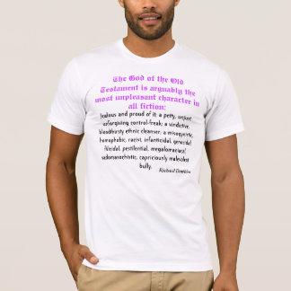 """Richard Dawkins """"l'illusion d'un DIEU """" T-shirt"""