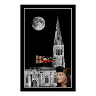 Richard III and Leicester Cathedral Poster
