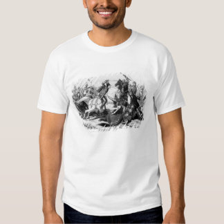 Richard III  at the Battle of Bosworth in 1485 Tee Shirts