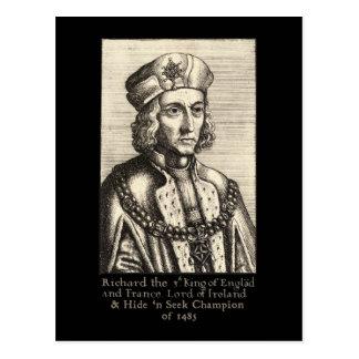 Richard III: Hide 'n Seek Champion Postcard