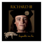 Richard III in the shadows Poster
