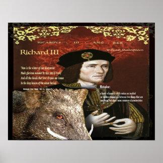 Richard III Metaphor Poster