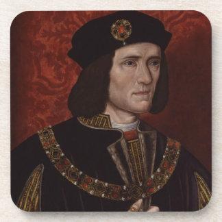 Richard III of England Beverage Coasters