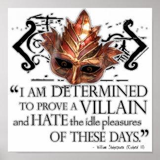 Richard III Quote Poster