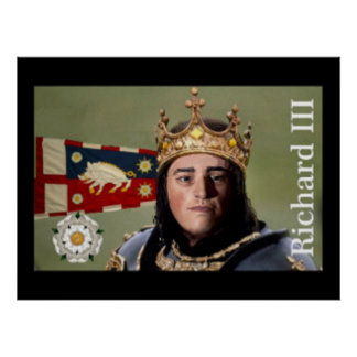 Richard III ready for battle Poster