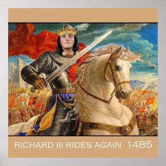 Richard III rides again! Poster