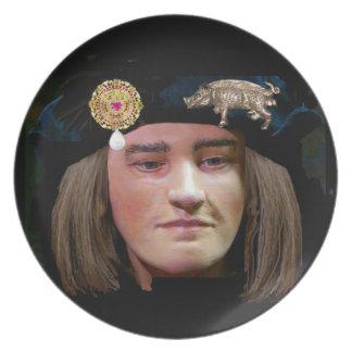 Richard III smiling Plate