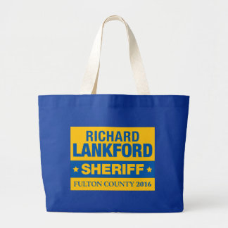 Richard Lankford for Sheriff Official Tote Jumbo Tote Bag