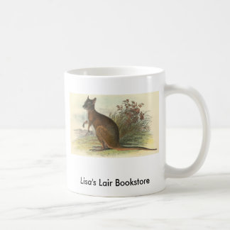 Richard Lydekker - Dama Wallaby Bookstore Promo Basic White Mug