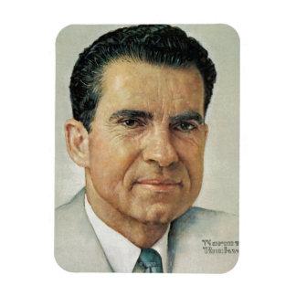 Richard Milhouse Nixon Rectangular Photo Magnet