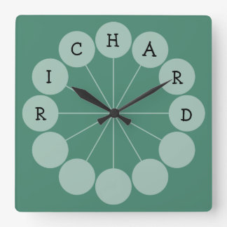 RICHARD Modern Fun Name Clock
